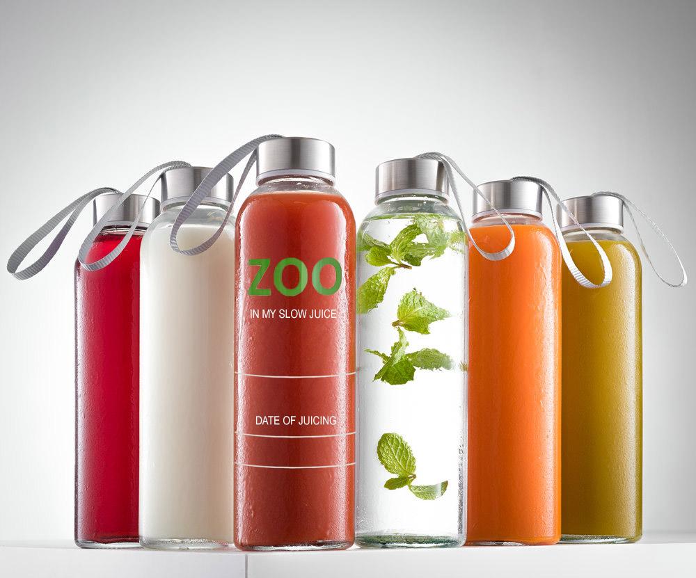 Hordozható Üveg Palack 360 ml + ingyenes kiszállítás