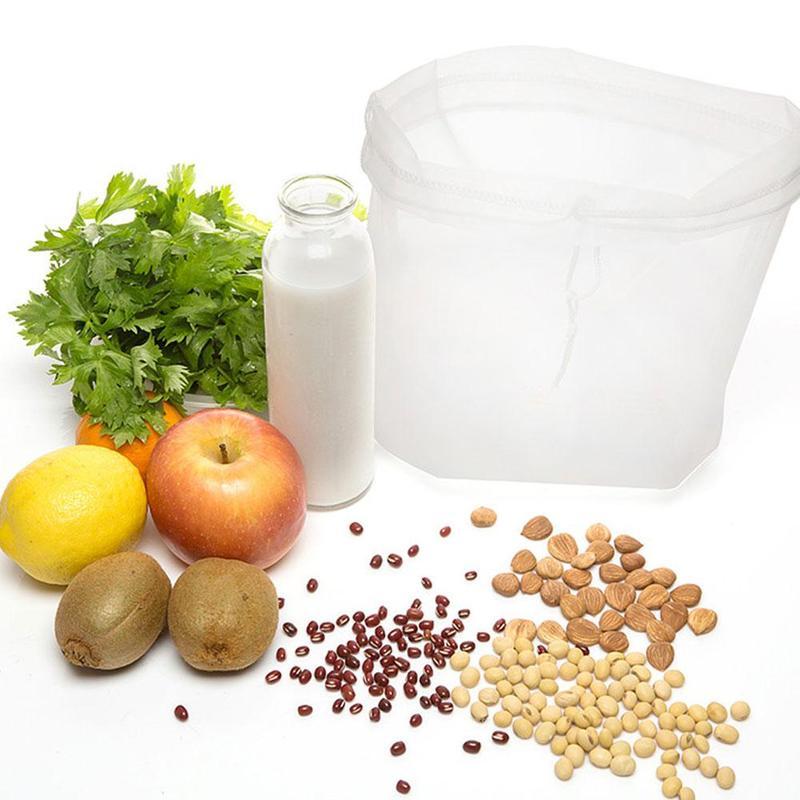 Magtej készítő szűrőzsák - Mandulatej, Máktej, Diótej, Kesutej, Növényi Italok készítéséhez