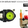 *Új* - Byzoo Zebra Nagy Adagolónyílású Gyümölcsprés (Ezüst) + 30.000 Ft Extra Ajándékok